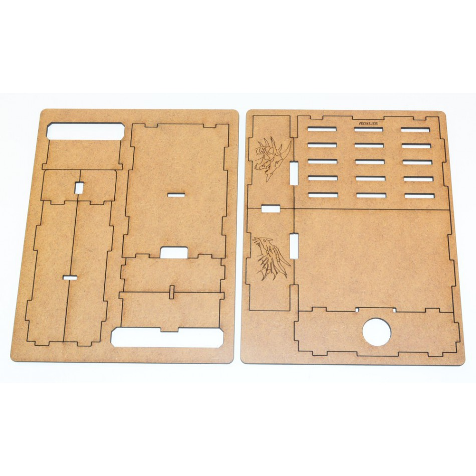 D&D Attack Wing Template Holder